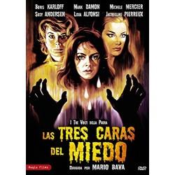 Las tres caras del miedo [DVD]