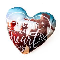Cojin corazón personalizado...